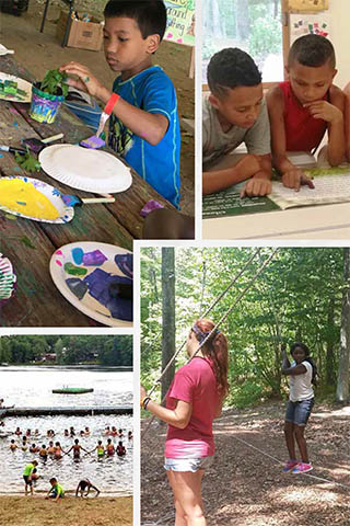 rainbow summer camp
